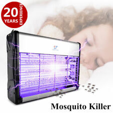 Electronic Mosquito Killer Lamp Insect Zapper Bug Fly Stinger Pest Control 110V