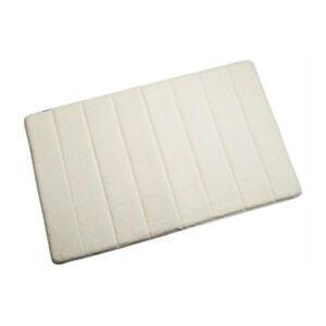 Bath Mat Luxury Microfibre Memory Foam Non Slip Backing