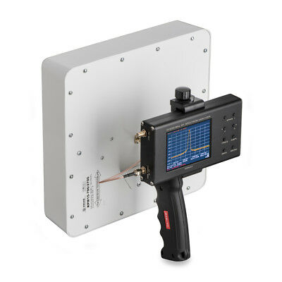 Broadband 6 dB UWB measuring test antenna 0.6-6 GHz with handle