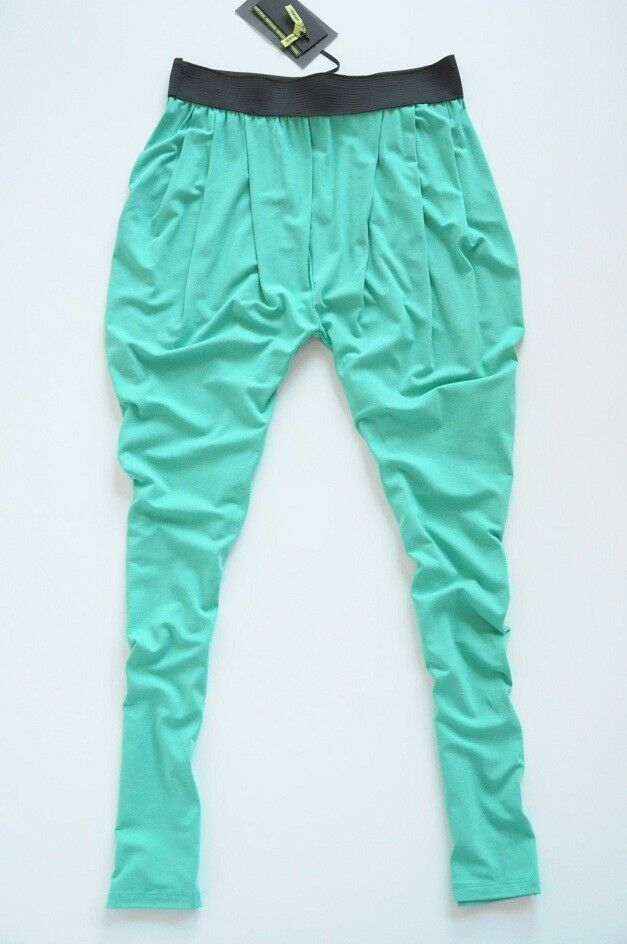 IMPERIAL  - comfortable green tapered pants 8   S