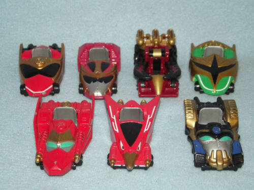 POWER RANGERS NINJA STORM SMALL DIECAST CARS 7 TO CHOOSE FROM
