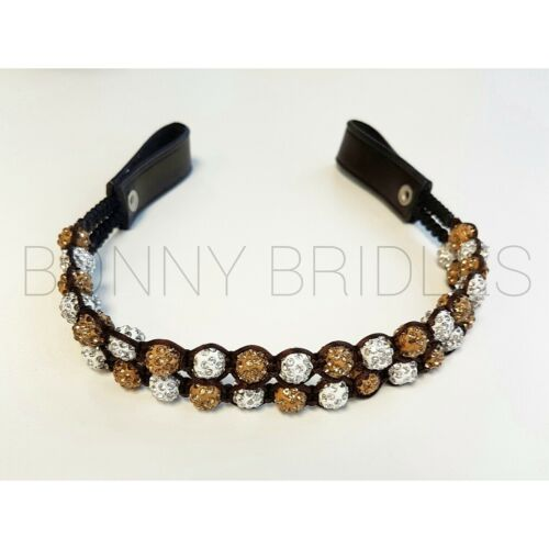 PICK YOUR COLOURS! *Shamballa Browbands* VARIOUS STYLES!