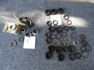 """Miscellaneous 1 1/8"""" & 1"""" Bicycle Headset Parts Lot **NOS**"""