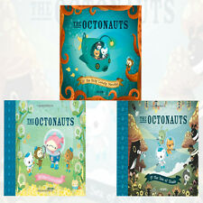 The Octonauts 3 Books Collection Set By Meomi (the Only Lonely Monster) New Pack