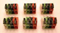 (6) Russound Speaker Connectors - Cav6.6, Cam6.6, Mca-c5, Mca-c3, Caa66, Cas4