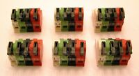 (6) Russound Speaker Connectors - Cav6.6, Cam6.6, Mca-c5, Mca-c3, Caa66, Cas4