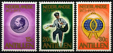 Netherlands Antilles 1973 SG#569-571 Stamp Centenary MNH Set #D34263