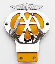 Reproduction Vintage AA Badge Automobile Association Classic Car Badge, Mini MG