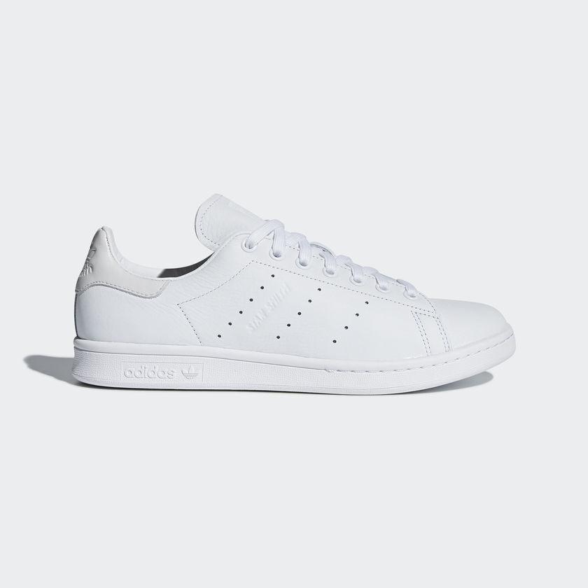 Adidas Adidas Adidas Men ORIGINALS STAN SMITH PREMIUM LEATHER SHOE White CQ2198 UK6.5-10.5 04' 0e5cea