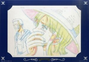 IngéNieux One Piece Douga Sheet Replica Cel Copy X1 Picture Art Toei Bandai Eiichiro Oda