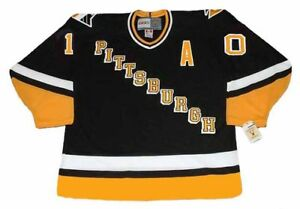 new style 28c28 b7717 Details about RON FRANCIS Pittsburgh Penguins 1994 CCM Vintage Away NHL  Hockey Jersey