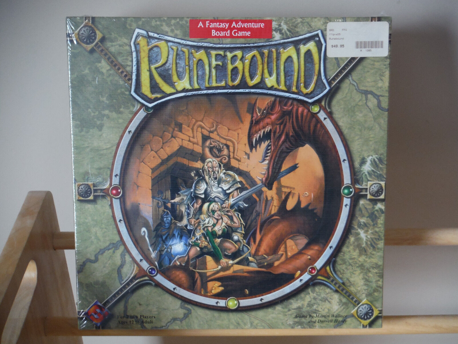Fantasy Flight Games Runebound (1st Edition) Factory Sealed Brand NEW  MIB OOP