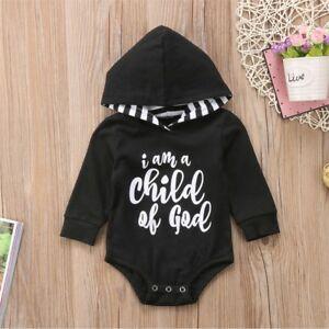 d22047f61 USA Newborn Baby Clothes Girl Boy Romper Winter Jumpsuit Bodysuit ...