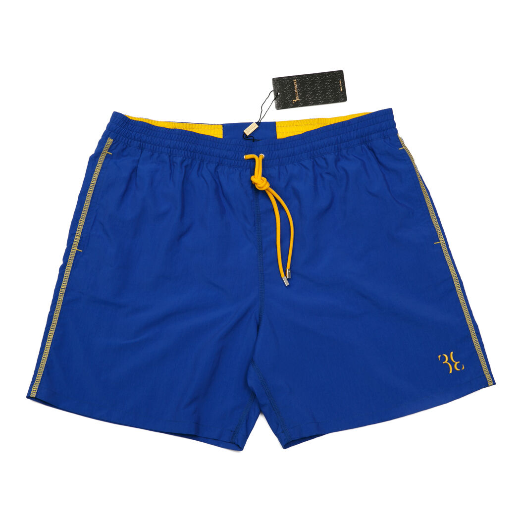 Billionaire Italian Couture Men's Swimwear Shorts indigo PA 100% sizes XL-4XL
