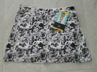 Tranquility Colorado Clothing Skort Skirt Hydrangea Black / White Size Small
