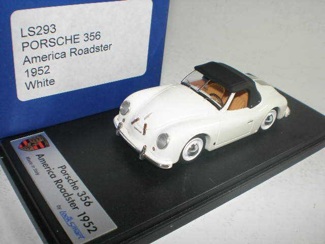 1 43 LOOKSMART PORSCHE 356 America Roadster 1952 Blanc