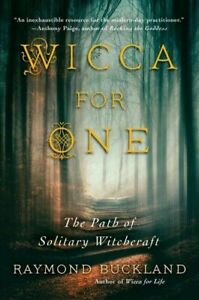 Wicca-for-One-The-Path-of-Solitary-Witchcraft-Paperback-or-Softback
