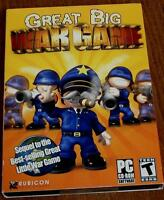 Great Big War Game Pc Video Game - Brand In Package