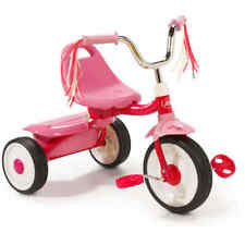 Radio Flyer Tricycle Folding Bike Pink 3 wheel bicycle Ready-To-Ride kids girls
