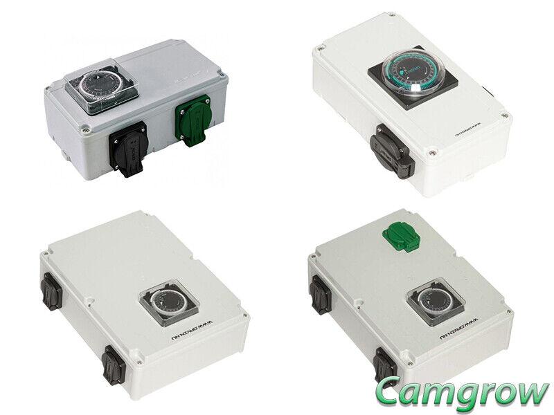 López-Contactor Temporizador Boxs-DV12 & DV12K (2x600W) & DV14 & DV14k (4x600W)