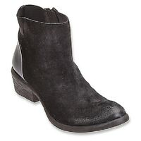 Coconuts By Matisse Black Butch Bootie Boots Suede & Leather Combo 9 Or 10