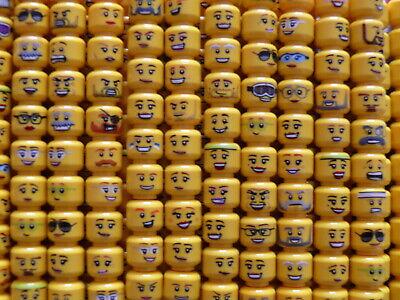 Lego® Minifigures 20 Têtes Visages Head Serie City Homme Femme CHANGEZ DE TÊTE