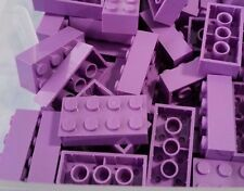 LEGO 10 Bricks Medium Lavender Purple 2 x 4