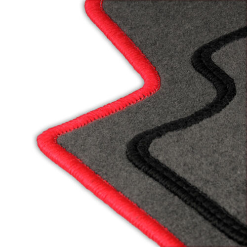 Fußmatten Auto Autoteppich passend für Toyota Aygo 2005-2010 Set CASZA0102