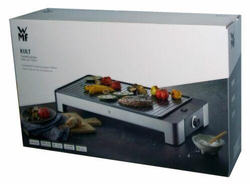WMF Kult Tischgrill gerippt 27 x 41 cm Grillfläche 2000 Watt