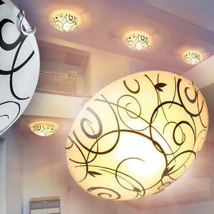 Moderne Deckenleuchte Flur Strahler Wohn Zimmer Lampen Küchen Leuchten Glas