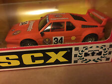 M/B scx discontinued ORANGE BMW M1 JAIGERMAISTER REF 8337 NEW AND UNUSED RARE