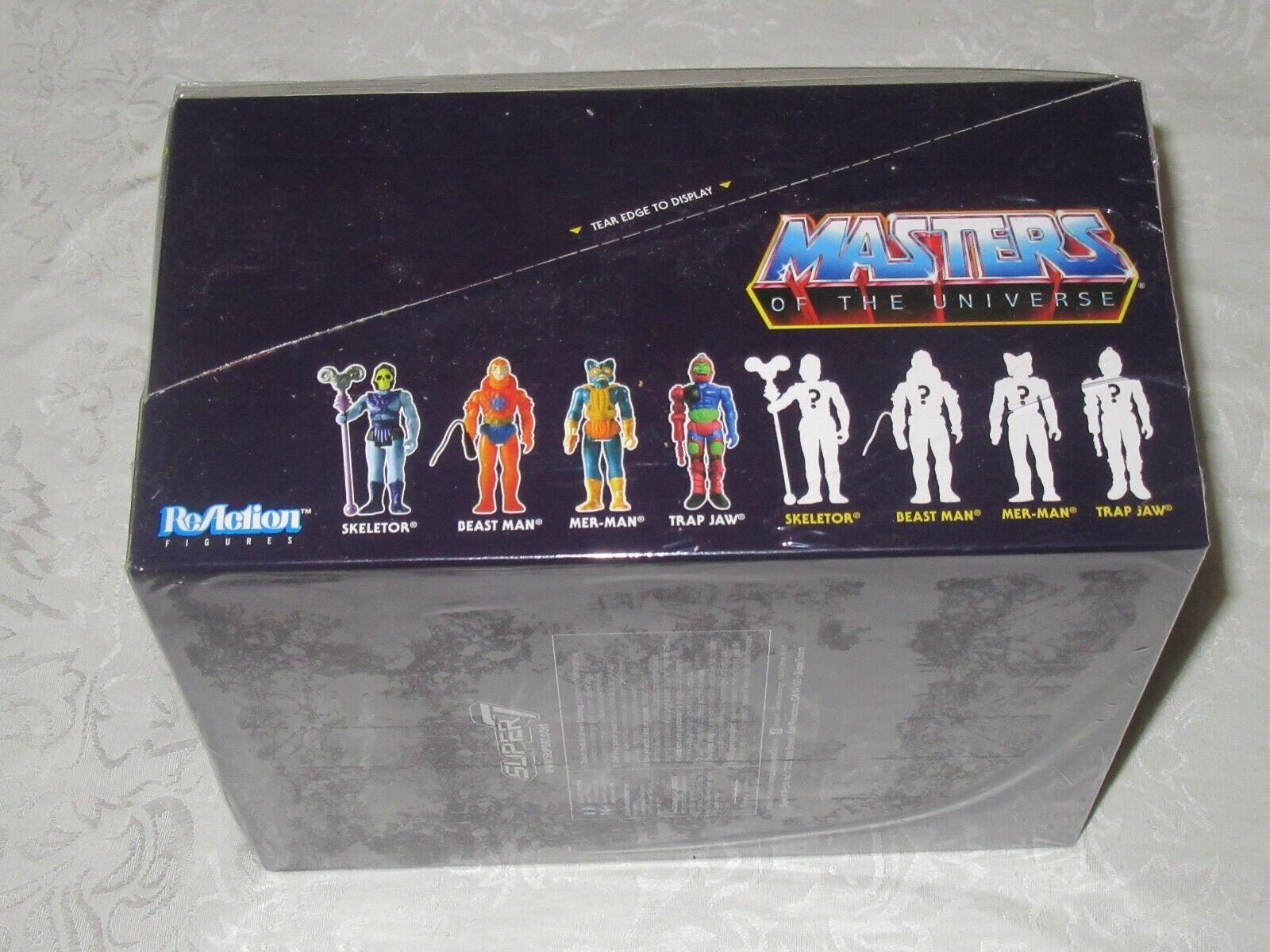 Super7 Masters of the Universe MOTU MOTU MOTU Evil Warriors Sealed Case 12 Blind Box E-1 A 498338
