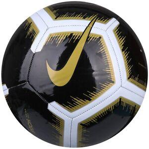 Details About Soccer Ball Nike Pitch Black Size 5 Football Fussball Ballon