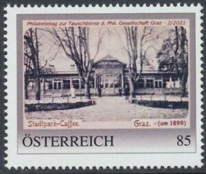 8137951 PM - Philatelietag Graz - Stadtpark Caffee **pt0577