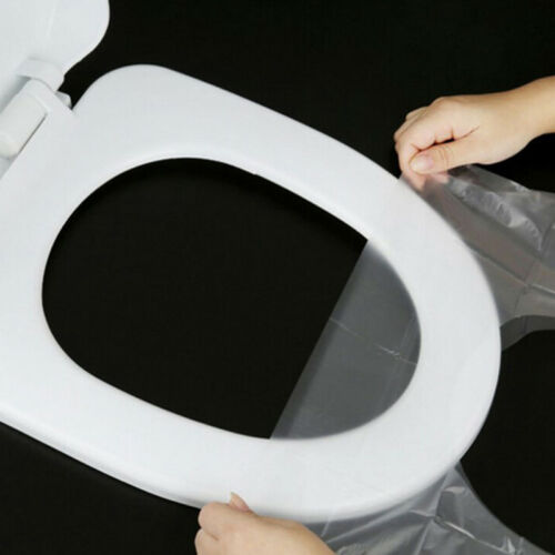 10pcs Disposable Clean Toilet Seat Covers Flushable Camping Festival Travel P0CA