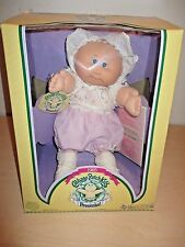 VINTAGE 1985 CABBAGE PATCH KIDS PREEMIE *EDNA HEATHER* BY COLECO. NOS.