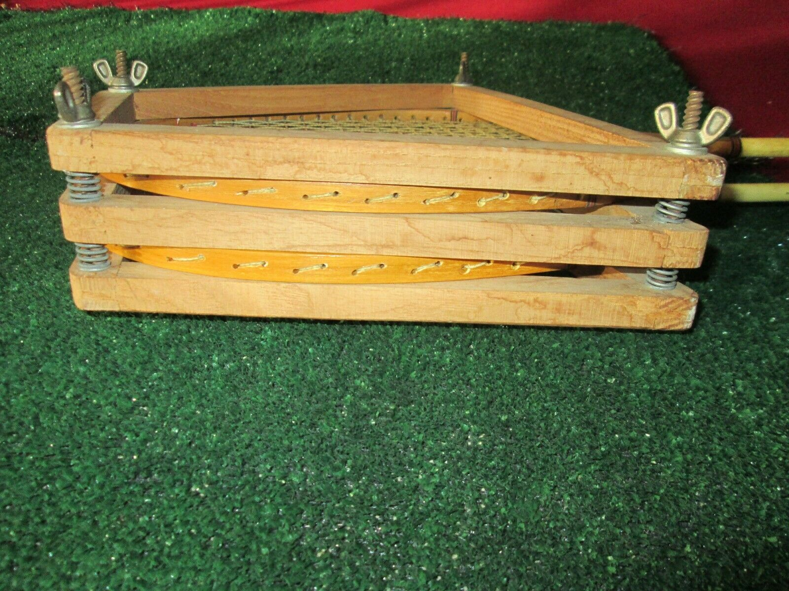 Vintage Spalding Jubilee Badminton Racquets Very Rare with Double Head Press