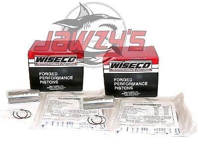 Harley 1200 Evo Sportster Wiseco Pistons 88-03 3.498 10.5:1