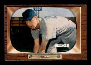 1955 Bowman Set Break #181 Eddie Miksis EX *OBGcards*
