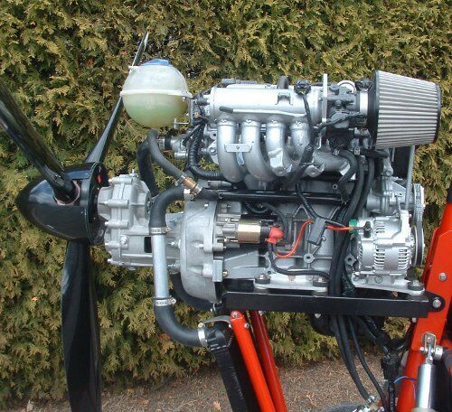 converting Suzuki engines for propeller driven craft. Air Trikes Enterprises