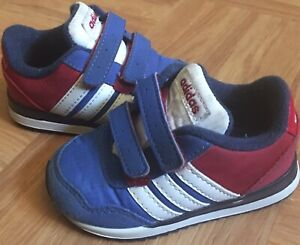 Details about Adidas Neo Jogger - Red, White, Blue - Toddler Boys Size 4 Kids EUC
