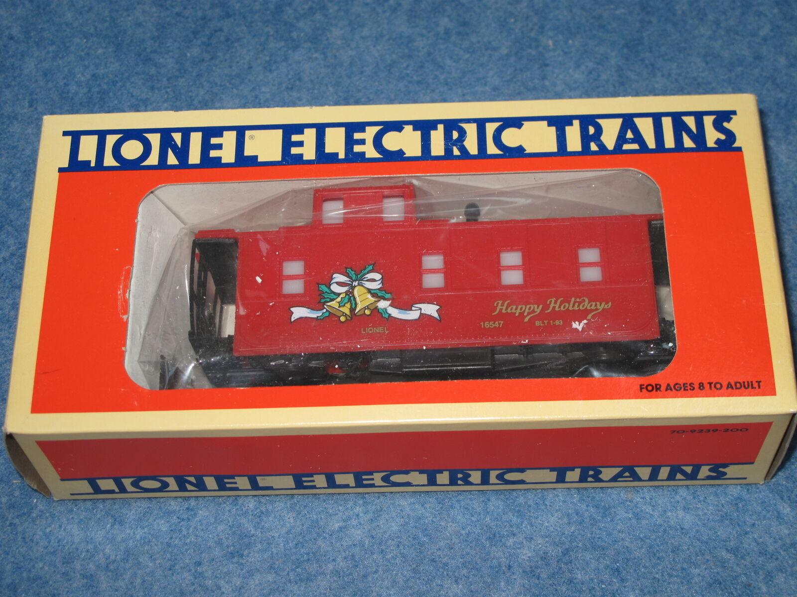 1993 Lionel 6 -16547 Julruta Fönster Cabose New i låda L1579