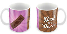 Bourbon Biscuit Mug Chocolate Lover Gift Idea funny classic tea biccies #46