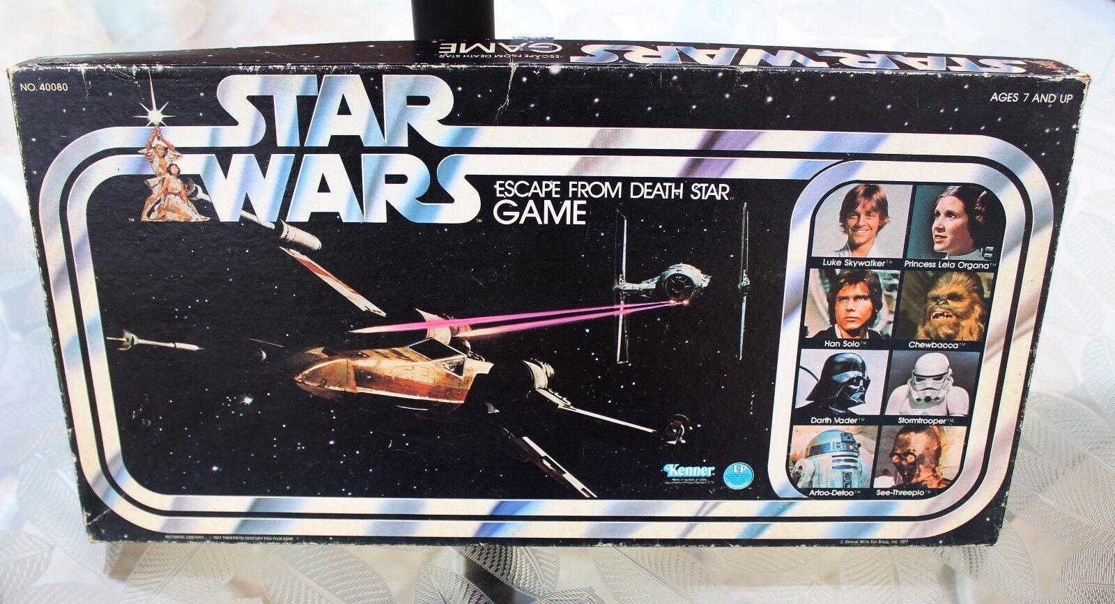 Star Wars Escape From Death Star Board Game Kenner utilisé