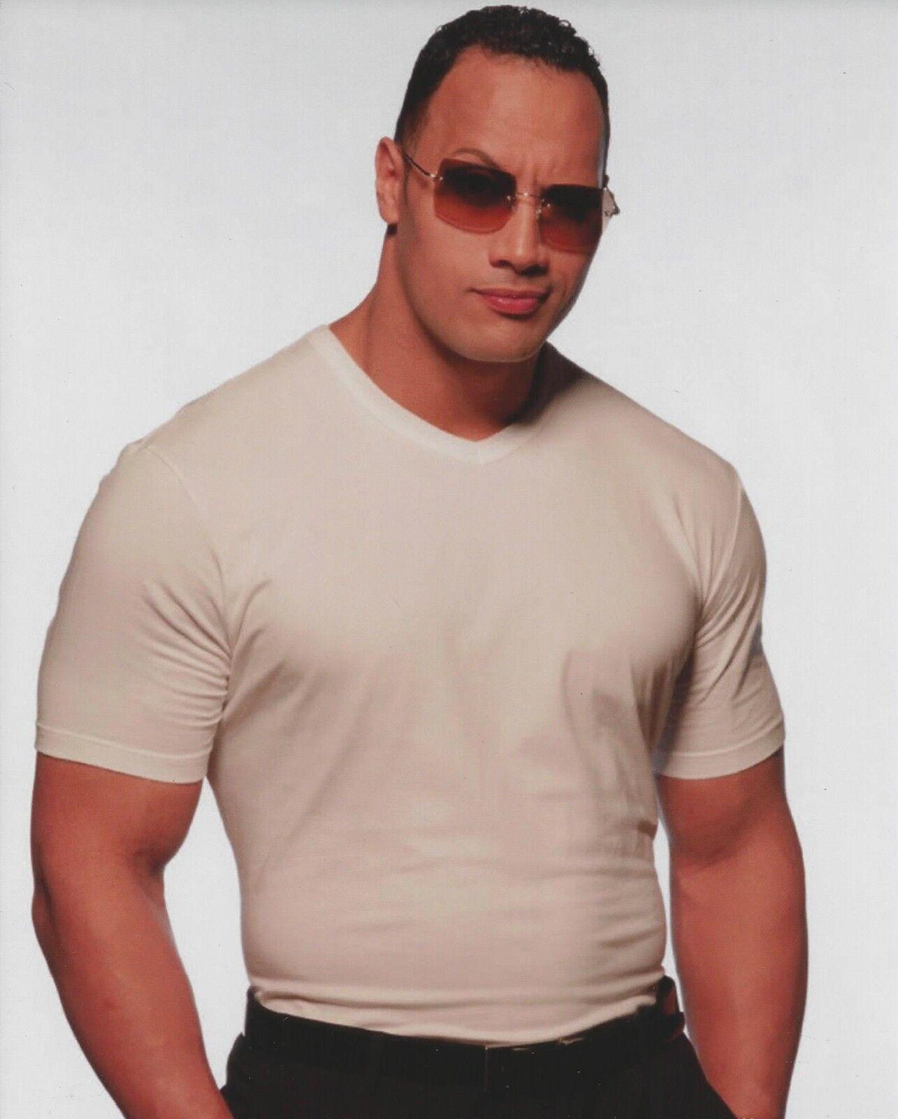 Dwayne Johnson The Rock Unnsigned 8X10 Photo