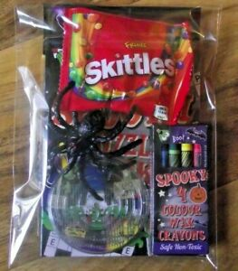 Pre-Filled-Halloween-Party-Bag-Toy-Fillers-Skittle-Sweets-Boys-Girls-Ready-Made
