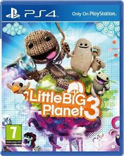 LITTLE BIG PLANET 3 PS4 Game (PRE OWNED) (USED) Excellent Condition