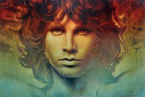 The Spirit Of Jim Morrison Rare Art Print 13x19 Poster High Quality The Doors