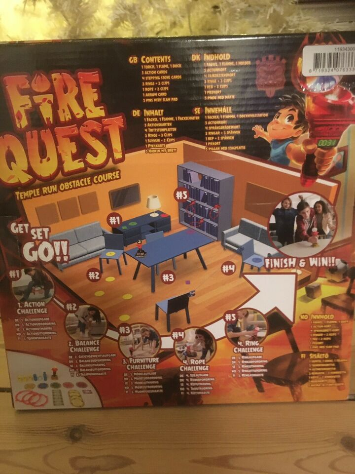 Fire quest, Børne, quizspil