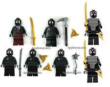 LEGO Teenage Mutant Ninja Turtles TMNT 7 FOOT SOLDIERS ROBO NINJA Minifigure Set